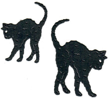 Load image into Gallery viewer, Dies ... to die for metal cutting die - Black scardy Cats