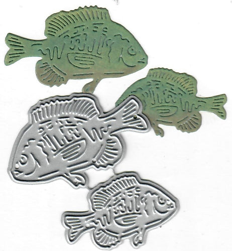 Dies ... to die for metal cutting die - Fish - Bluegill / Sunfish