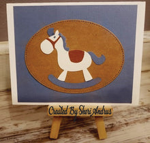 Load image into Gallery viewer, Dies ... to die for metal cutting die - Cute rocking horse