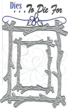 Load image into Gallery viewer, Dies ... to die for metal cutting die - Branch / twig / stick frame set