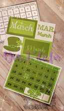 Load image into Gallery viewer, Dies ... to die for metal cutting die - Calendar Grid - A2 size - Removable numbers