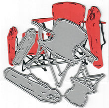 Load image into Gallery viewer, Dies ... to die for metal cutting die - Camping / sports chairs