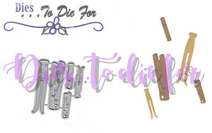 Dies ... to die for metal cutting die - Clothes pins