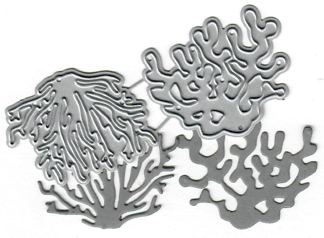 Dies ... to die for metal cutting die - Coral - Ocean life