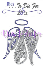 Load image into Gallery viewer, Dies ... to die for metal cutting die - Cora's Wings Benefit die