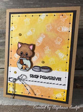 Load image into Gallery viewer, Gina Marie Clear stamp set - Cute kitty