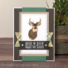 Load image into Gallery viewer, Gina Marie Clear stamp set - Deer layered