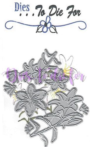 Dies ... to die for metal cutting die - Easter Lily