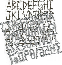 Load image into Gallery viewer, Dies ... to die for metal cutting die - Evin's Alphabet - Log sticks Font