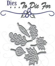 Load image into Gallery viewer, Dies ... to die for metal cutting die - Fall Leaves set