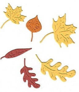 Dies ... to die for metal cutting die - Fall Leaves set