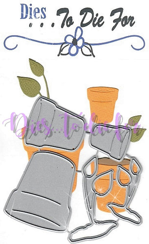 Dies ... to die for metal cutting die - Flower pot set