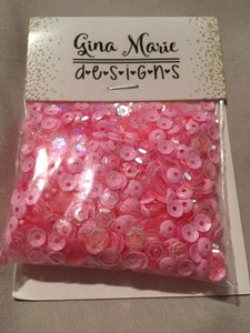 Gina Marie  Sequins mix - Glam Girl Pink