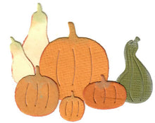 Load image into Gallery viewer, Dies ... to die for metal cutting die - Gourds and Pumpkins minis