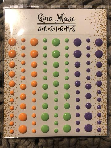 Gina Marie Enamel Dots set - Halloween Gloss