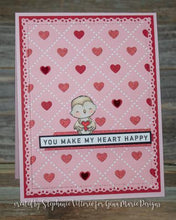 Load image into Gallery viewer, Gina Marie Metal cutting die - Argyle Heart background