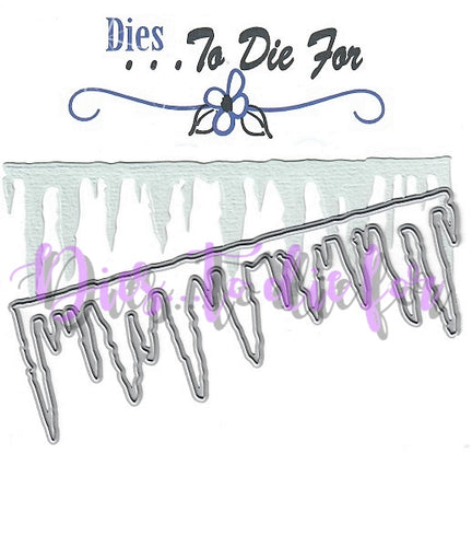 Dies ... to die for metal cutting die - Icicle border