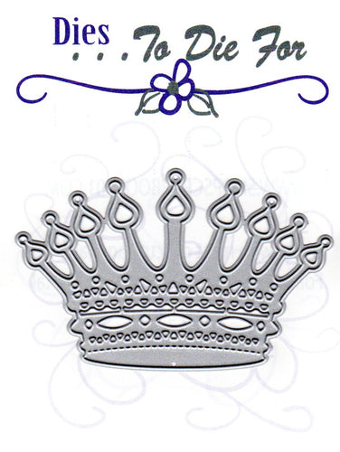 Dies ... to die for metal cutting die - King / Queen Crown - Princess