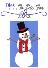 Load image into Gallery viewer, Dies ... to die for metal cutting die - Build - A - Snowman