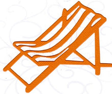 Load image into Gallery viewer, Dies ... to die for metal cutting die - Beach chair