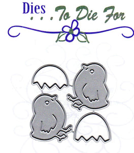 Dies ... to die for metal cutting die - Lil' Easter Chick and Egg