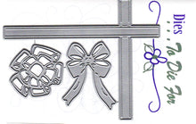Load image into Gallery viewer, Dies ... to die for metal cutting die - Ribbons and Bows accent