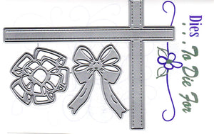 Dies ... to die for metal cutting die - Ribbons and Bows accent