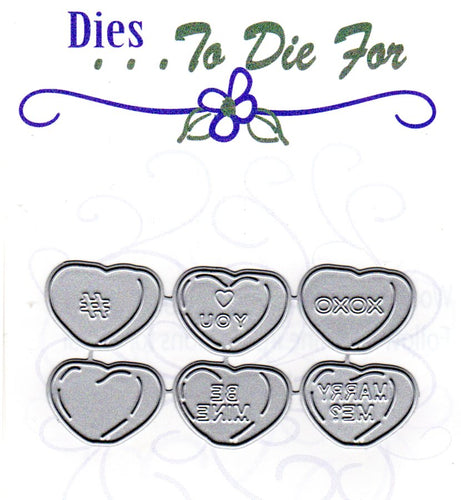 Dies ... to die for metal cutting die - Heart Candy
