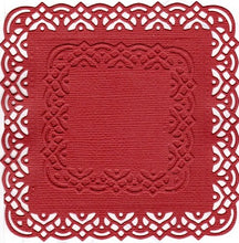 Load image into Gallery viewer, Dies ... to die for metal cutting die - Lace edge square set