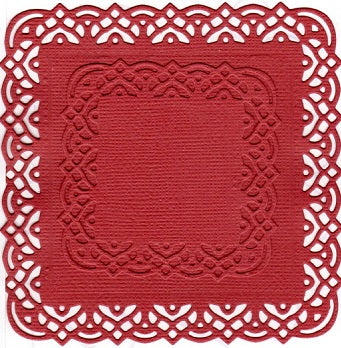 Dies ... to die for metal cutting die - Lace edge square set