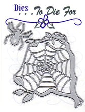 Load image into Gallery viewer, Dies ... to die for metal cutting die - Spider & web