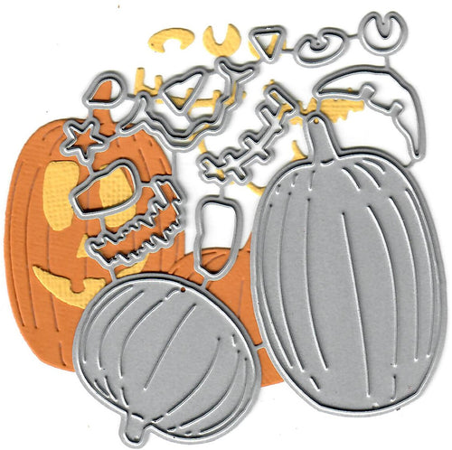 Dies ... to die for metal cutting die - Jack O lantern / Pumpkin
