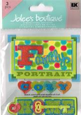 Jolee's Dimensional Sticker - Cozy Home - Family