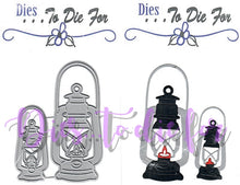 Load image into Gallery viewer, Dies ... to die for metal cutting die - Lantern - small and large