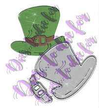 Load image into Gallery viewer, Dies ... to die for metal cutting die - Leprechaun Hat St. Patrick's Day