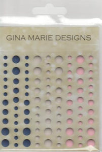 Gina Marie Enamel Dots set - Lighthouse colors