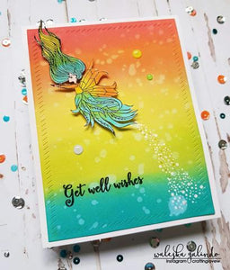 Gina Marie Clear stamp set - Little Fairies