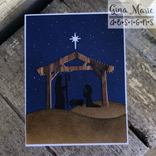 Load image into Gallery viewer, Gina Marie Metal cutting die -  Manger scene - Nativity