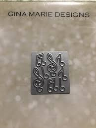 Gina Marie Metal cutting die - Mini Music note