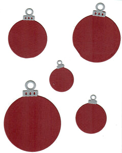 Dies ... to die for metal cutting die - Round Christmas Ornament nesting set