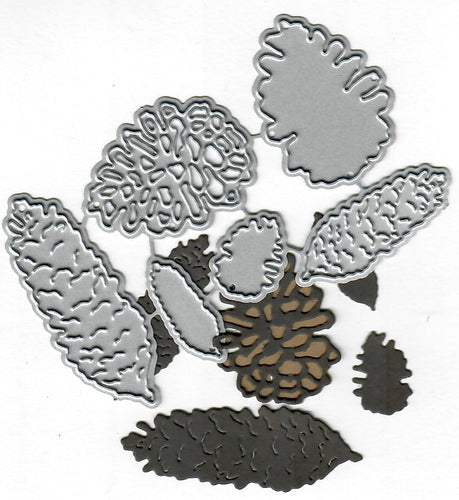 Dies ... to die for metal cutting die - Pine cone mix