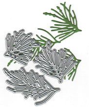 Load image into Gallery viewer, Dies ... to die for metal cutting die - Pine needles trio