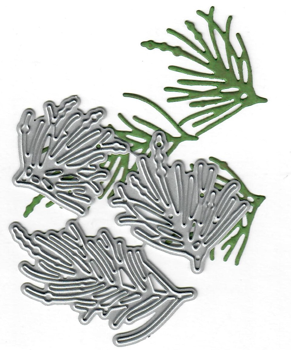 Dies ... to die for metal cutting die - Pine needles trio