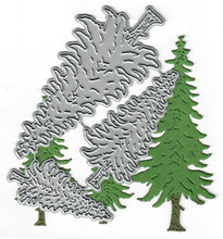 Load image into Gallery viewer, Dies ... to die for metal cutting die - Pine Trees Woodlands