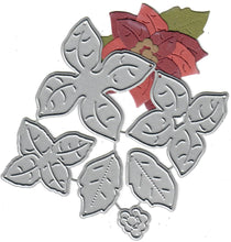 Load image into Gallery viewer, Dies ... to die for metal cutting die - Poinsettia #1 small