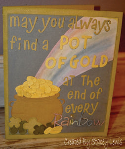 Dies ... to die for metal cutting die - Pot - O - Gold