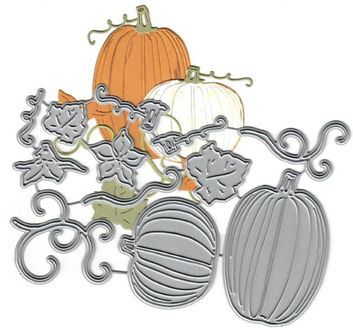 Dies ... to die for metal cutting die - Pumpkin patch set