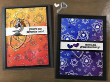 Load image into Gallery viewer, Gina Marie Clear stamp set - Science Nerd