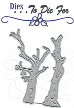 Load image into Gallery viewer, Dies ... to die for metal cutting die - Spooky Dead trees
