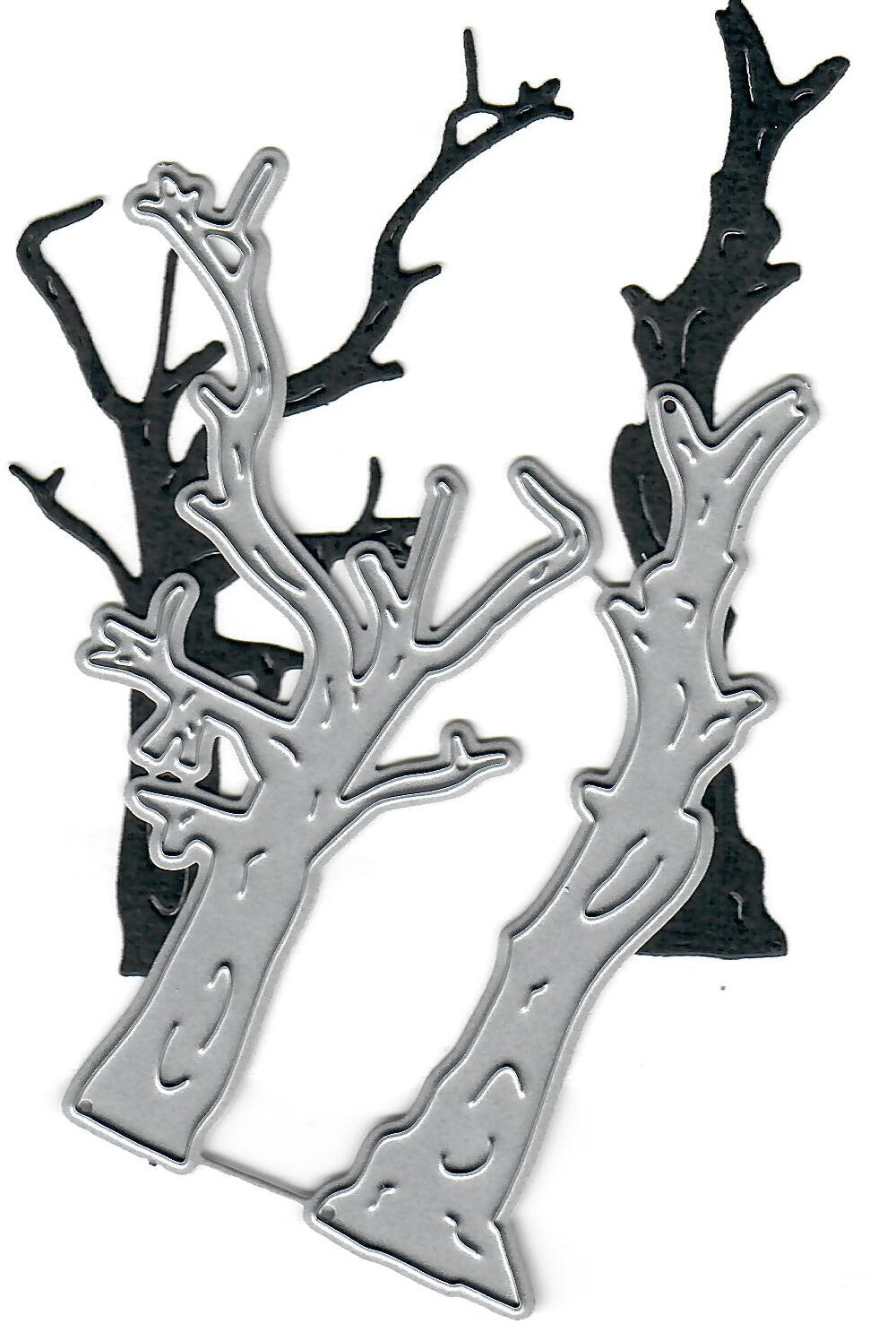 Dies ... to die for metal cutting die - Spooky Dead trees